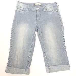 Womens Levi Strauss Jean Shorts Size 4p
